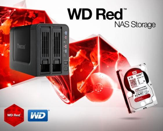 Western Digital Releases New Red SATA Hard Drives for Network Attached Storage