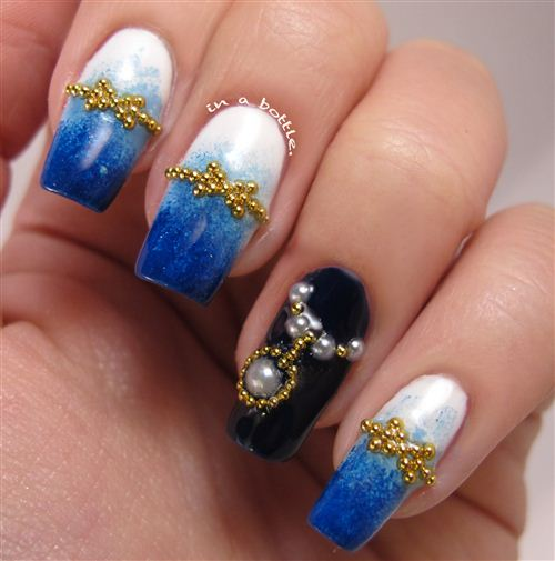 Unique Chinese New Year Nail Art Design