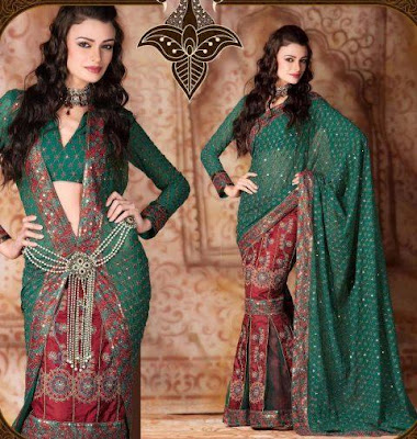 Lehenga-Type-Saree-Collection-2012