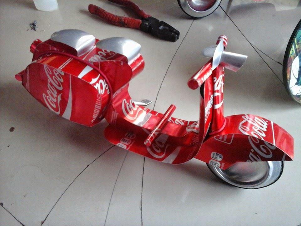 Kreasi Miniatur Kaleng Minuman  961a12681d
