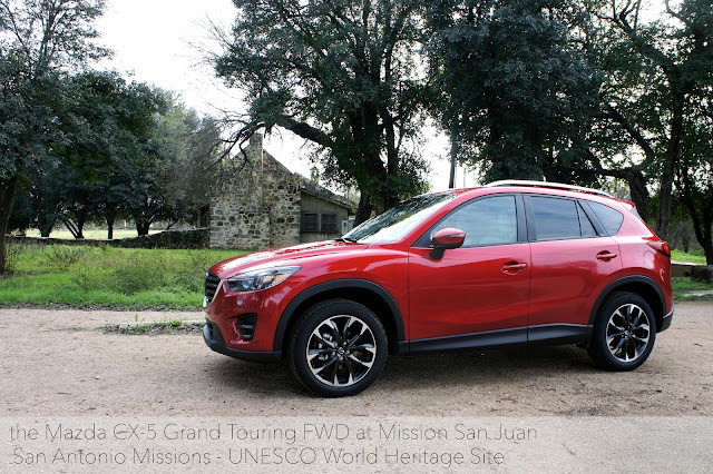 A visit to Mission San Juan with the Mazda CX-5 Grand Touring