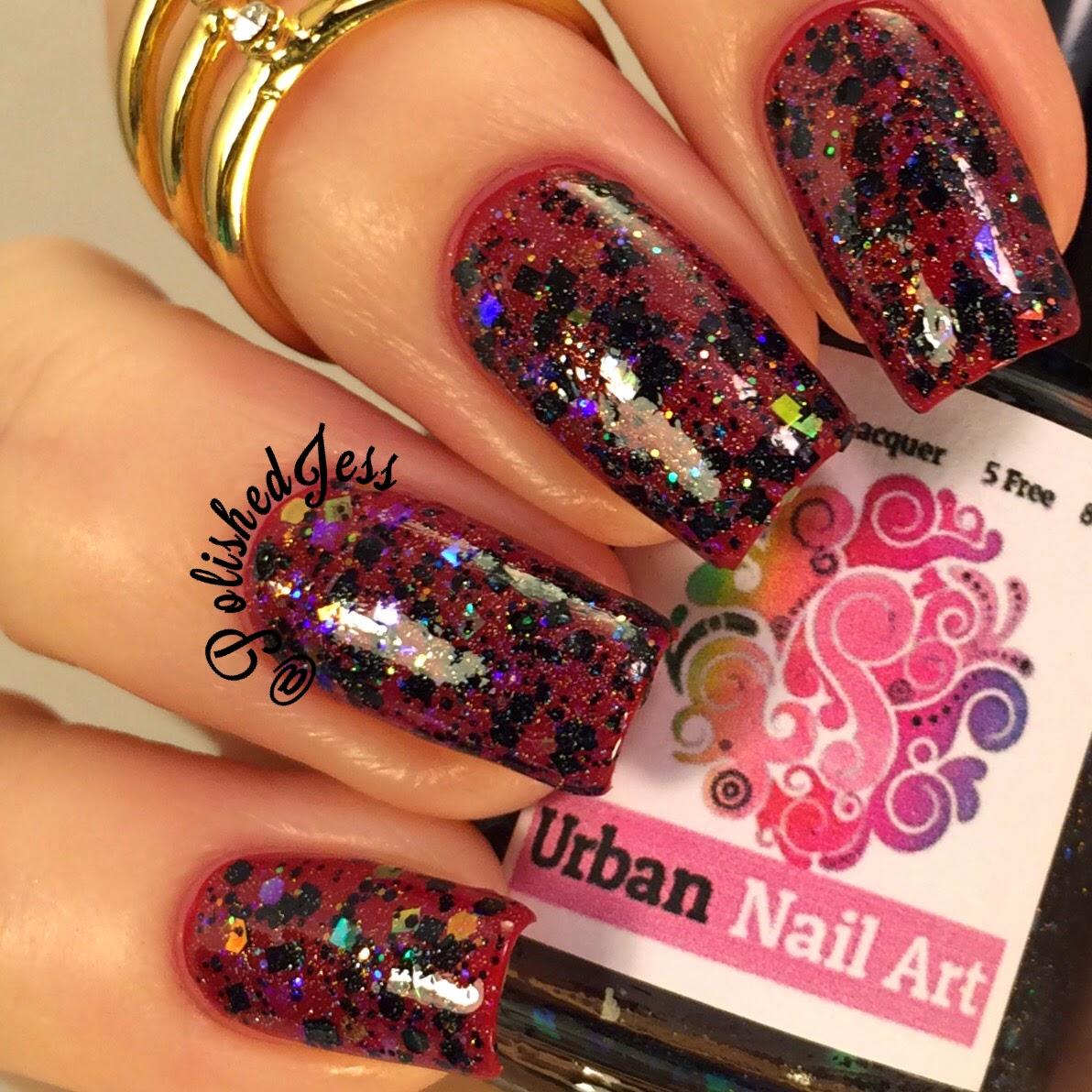 Polished Jess Urban Nail Art Selections