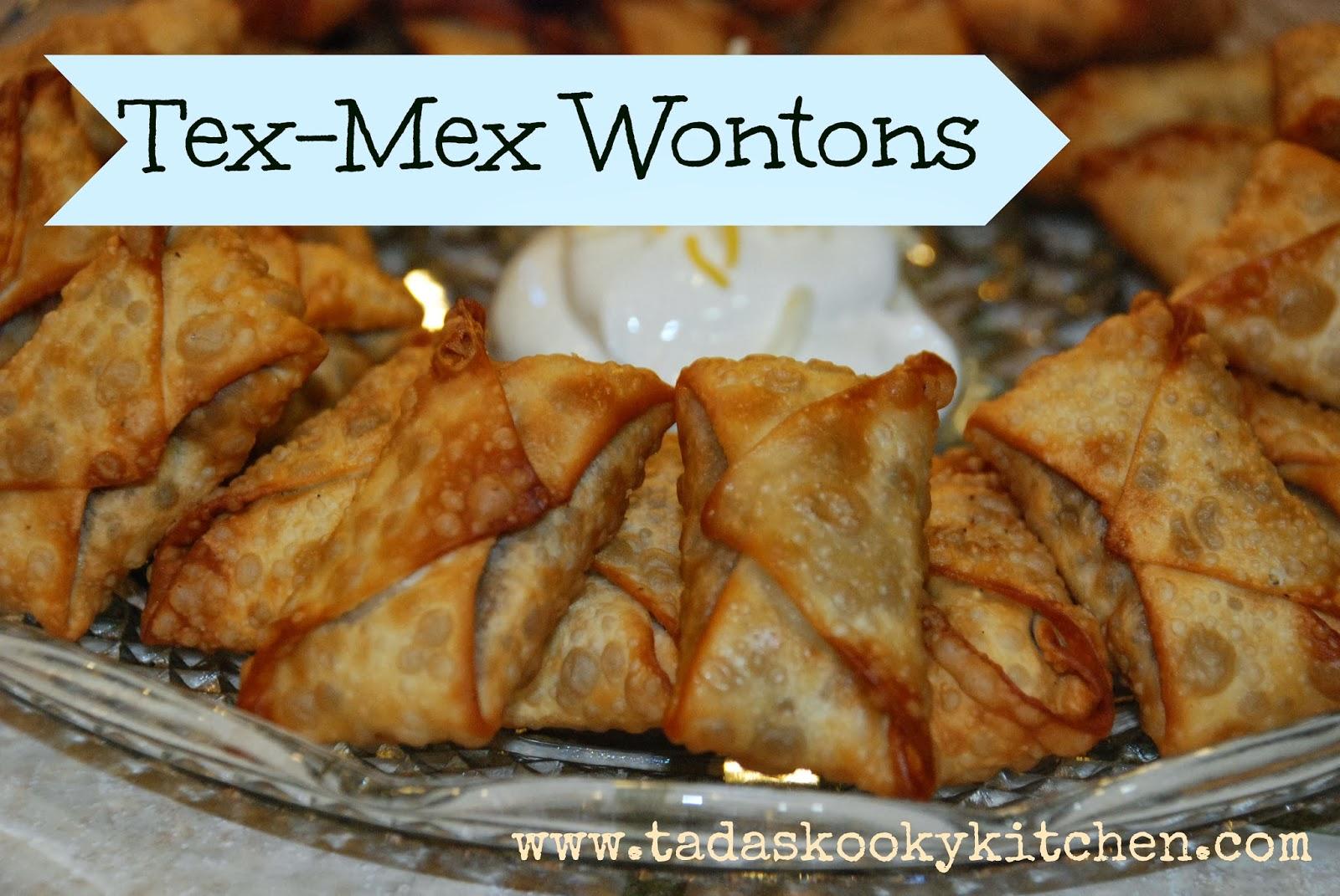 Tex-Mex Wontons