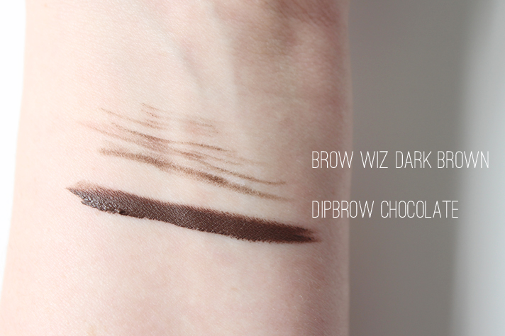 ANASTASIA BEVERLY HILLS // Brow Wiz in Dark Brown + Dipbrow Pomade in Chocolate | Review - CassandraMyee