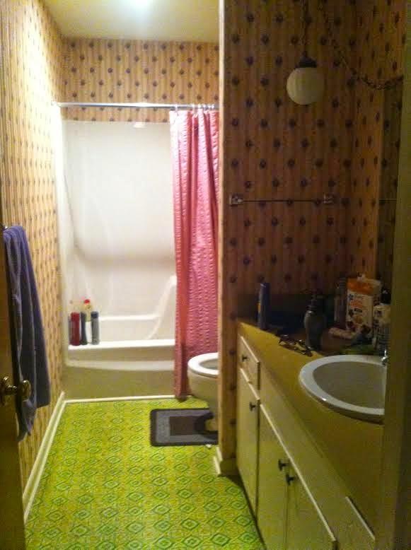 Enlightenment bathroom remodel in progress for Bathroom remodel in 3 days