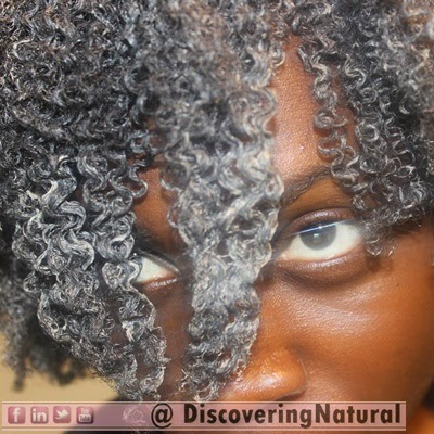 Bentonite Clay on Natural Hair