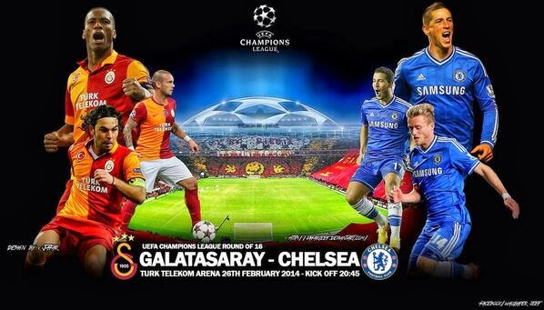Galatasaray 1 - 1 Chelsea ## Tous les Buts
