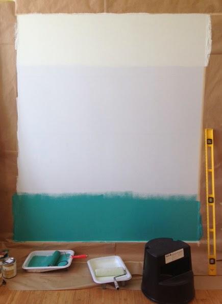 comment peindre son mur en tie and dye caract rielle. Black Bedroom Furniture Sets. Home Design Ideas