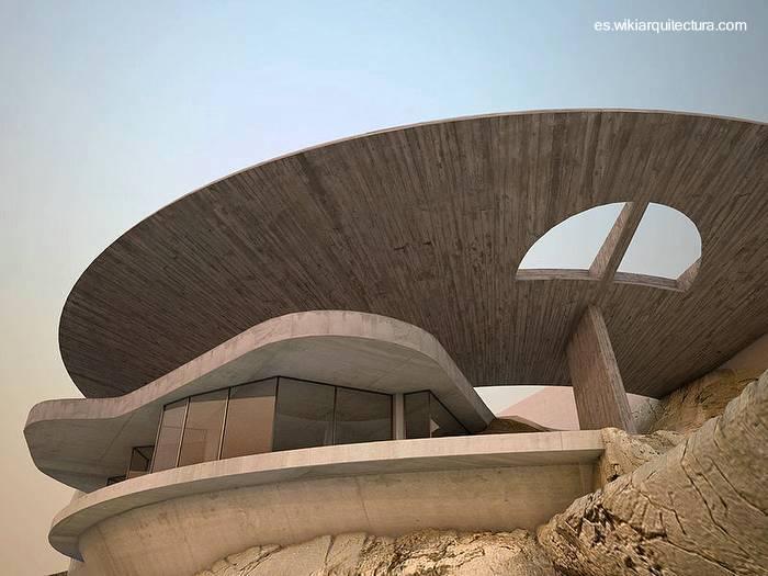 Casa moderna futurista for Casas modernas futuristas