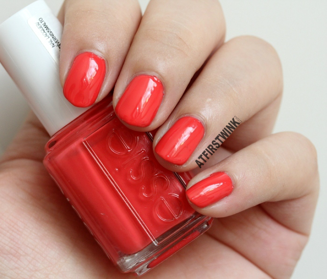 Essie summer 2015 sunset sneaks swatch far