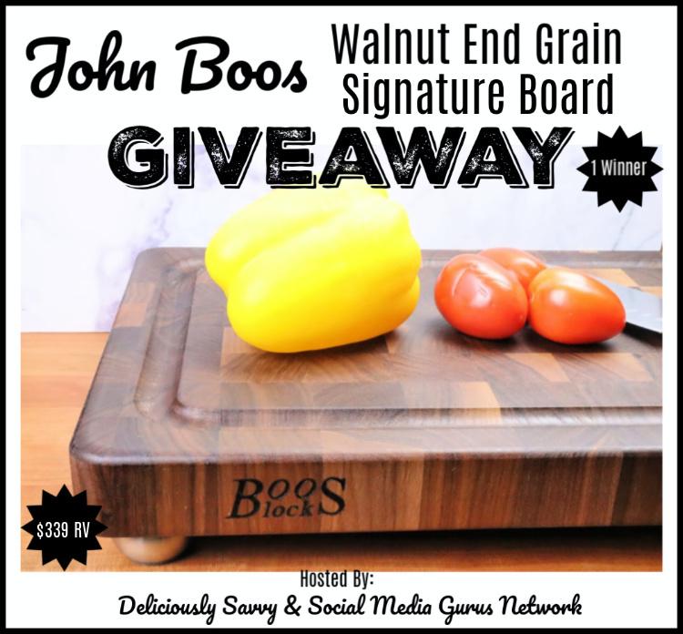 John Boos Co. Giveaway