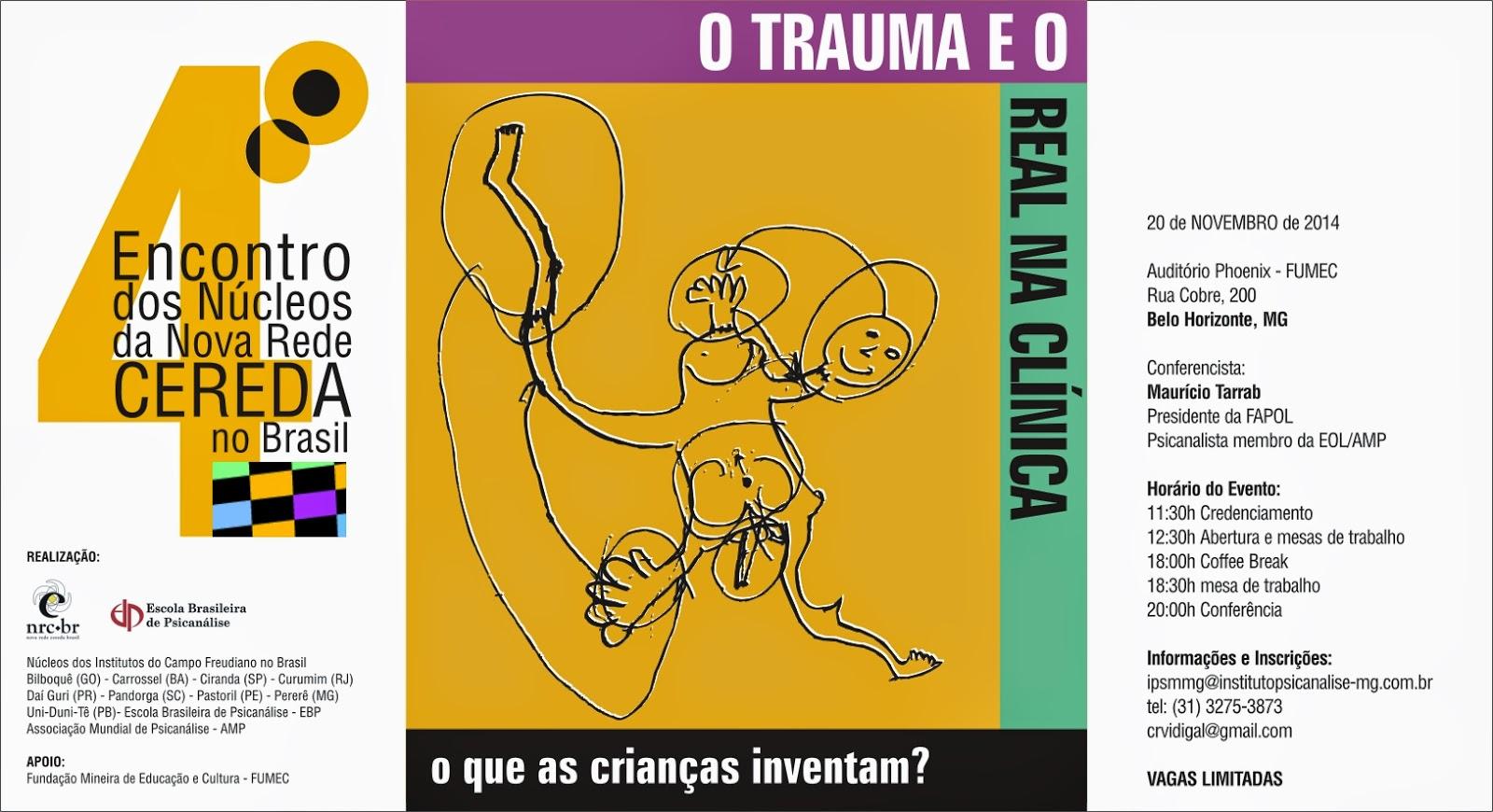 IV Encontro dos Núcleos da Nova Rede CEREDA no Brasil