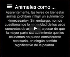 Animales [nohumanos] como propiedad: