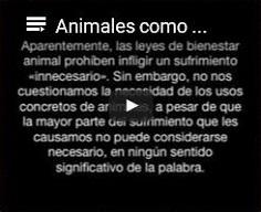Animales [nohumanos] como propiedad: