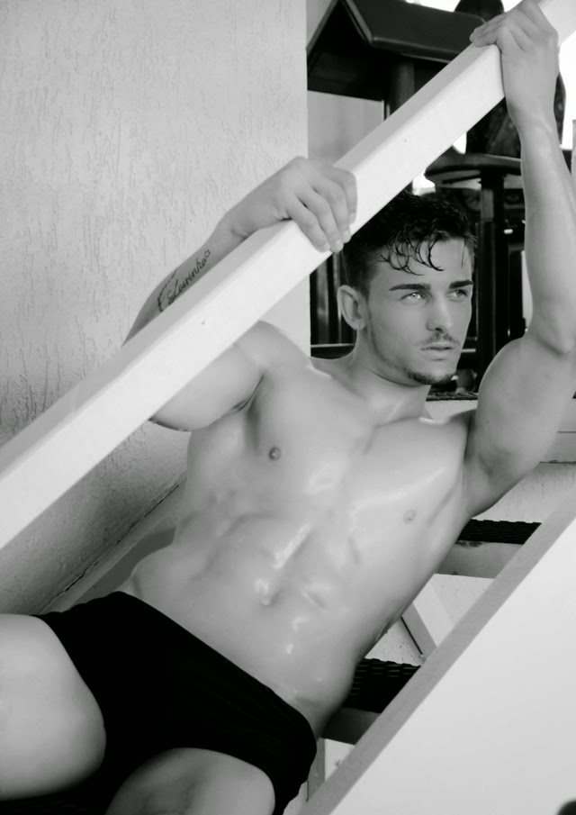 Lucas Oliveira, Mister Passos 2015. Foto: Marcos Januário