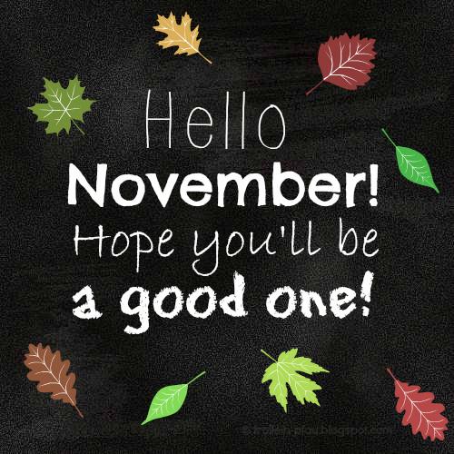 November, Herbst, neuer Monat, Blätter