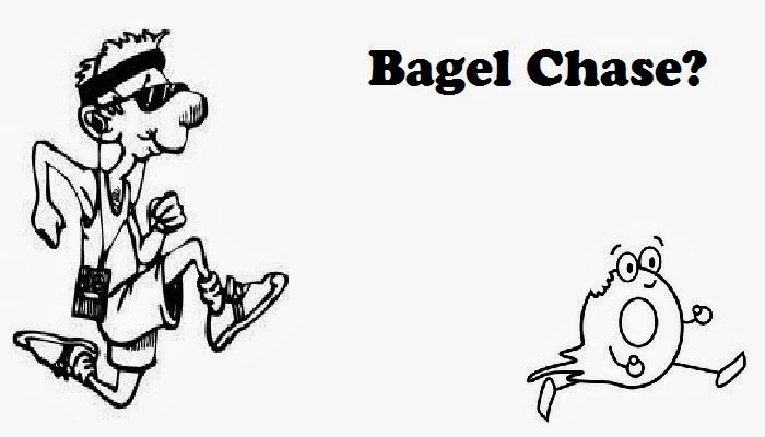 The Trail Effect Blog - Bagel Chase 2014