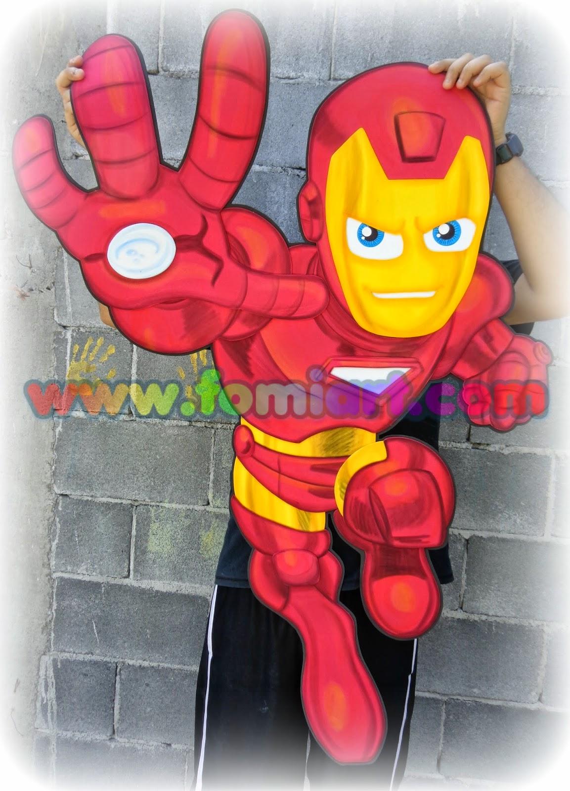 Iron man Manualidades