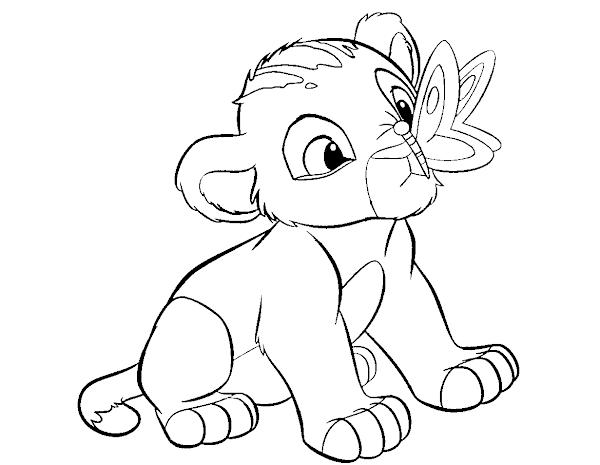 Disney Lion King Cartoon Drawings