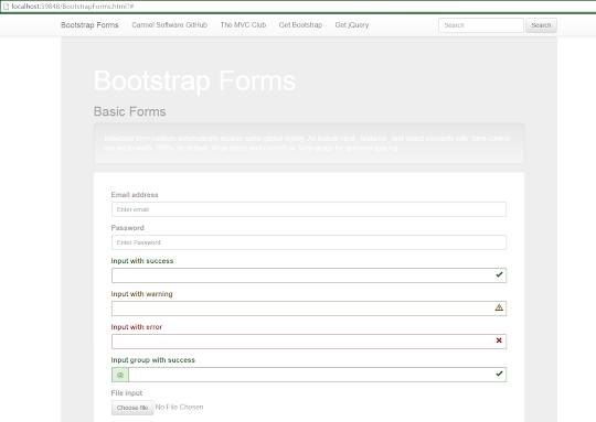 Bootstrap Tutorial Lesson 5 - Responsive Forms