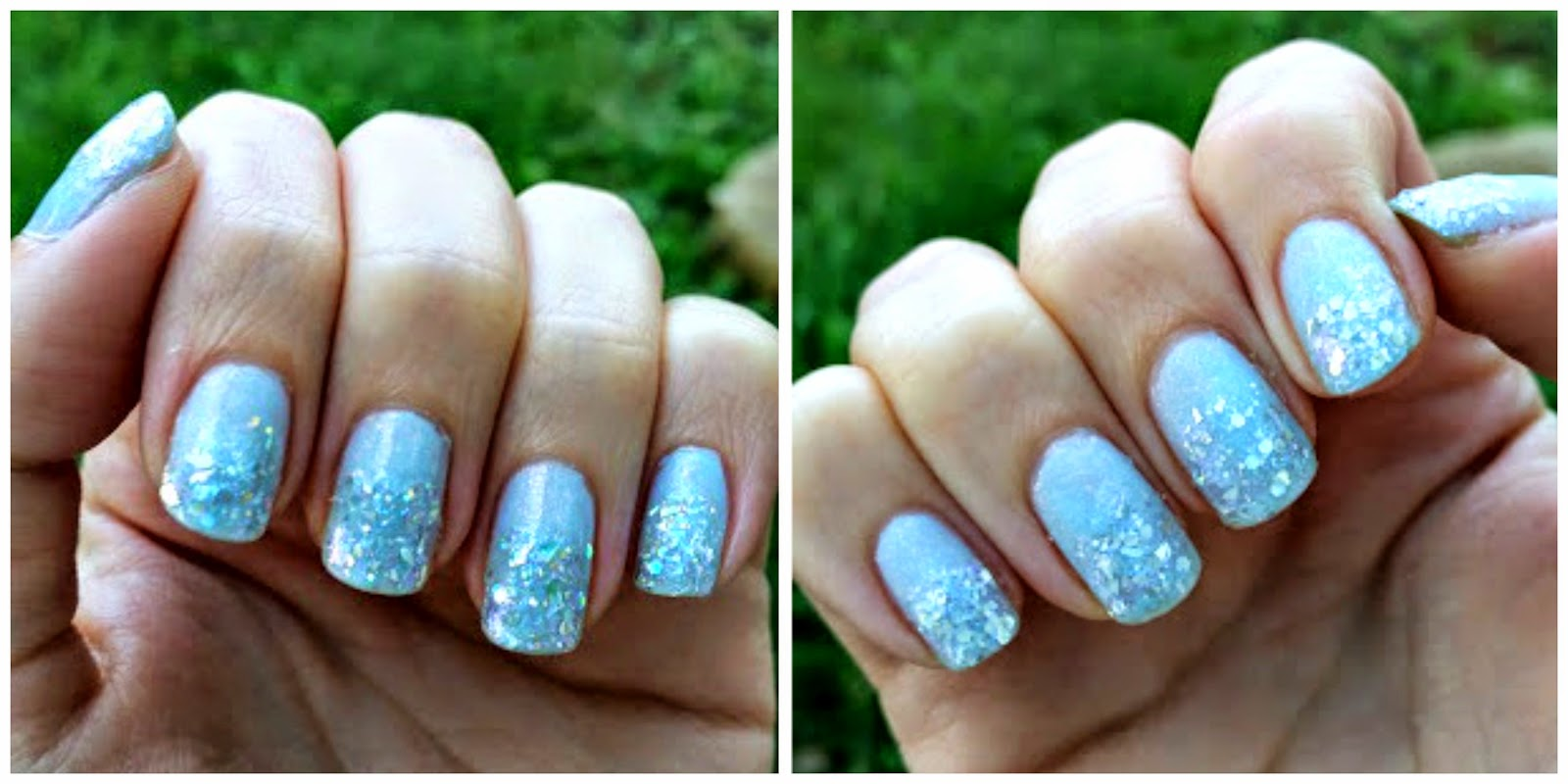 Random Heather Cinderella Nails