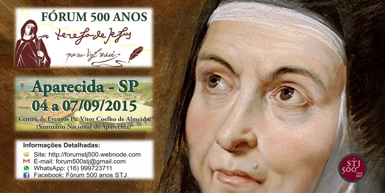 FÓRUM 500 ANOS SANTA TERESA DE JESUS