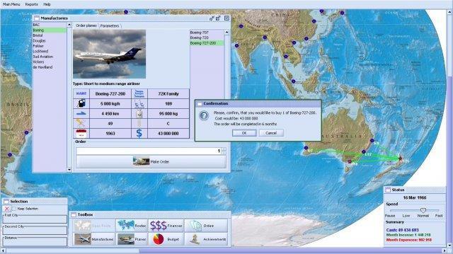 eMo AERO Boss -  Freeware Airline Management Game Image