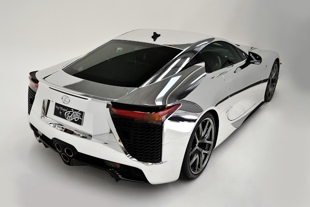 Auto Reviews, Gallery, Sport Cars, Lexus, Lexus LFA,Lexus LFA chrome