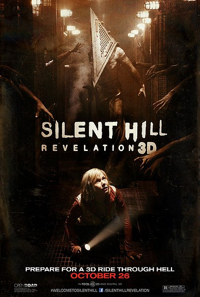 silent hill revelation 3d, upcoming 3d movie