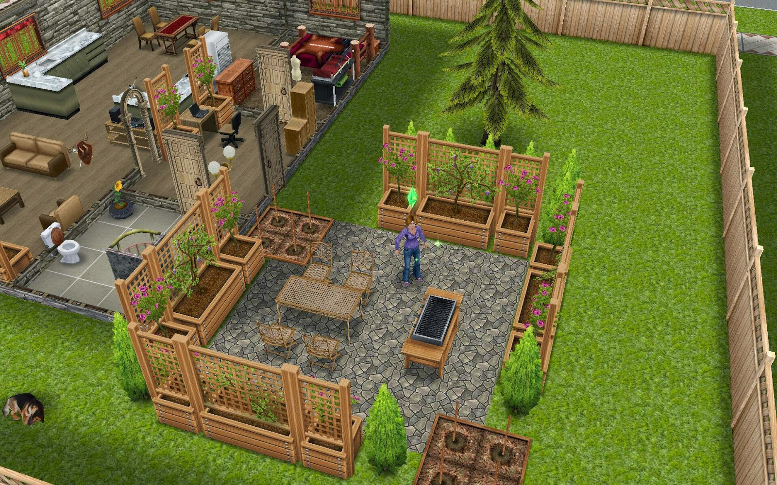 sims 2 backyard ideas. this design has been updated sims 2 backyard ideas
