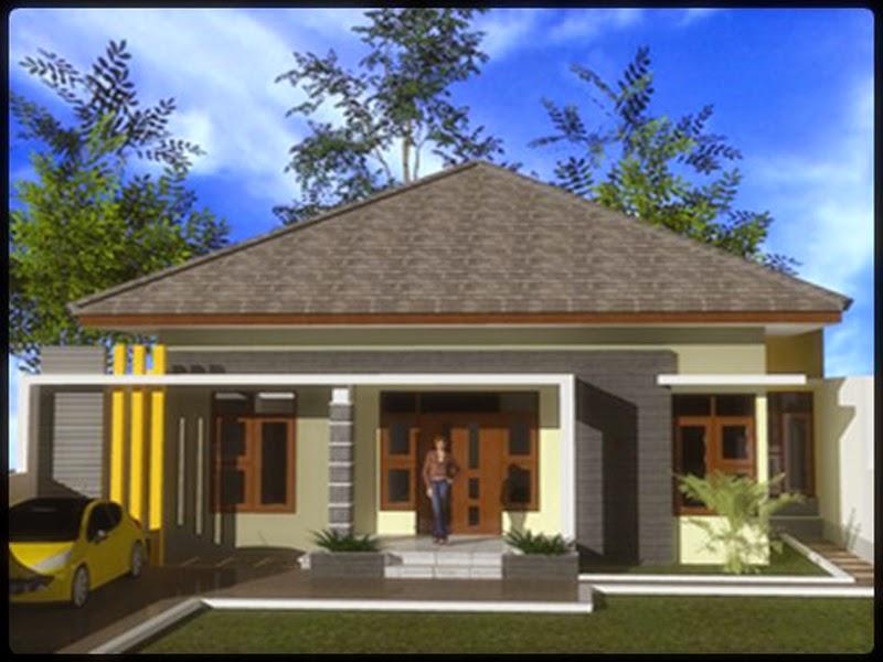 Desain Rumah Minimalis 1 Lantai Type 100