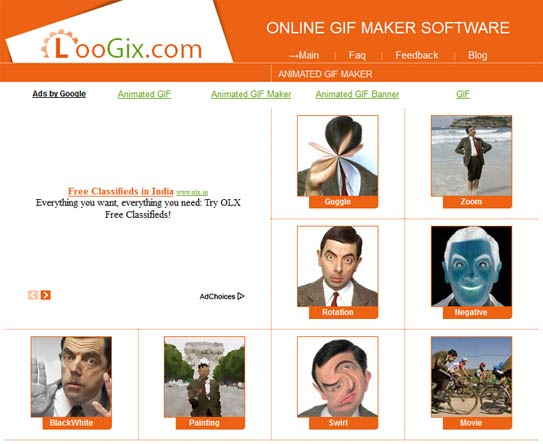 Best Websites To Create Animated GIF Images