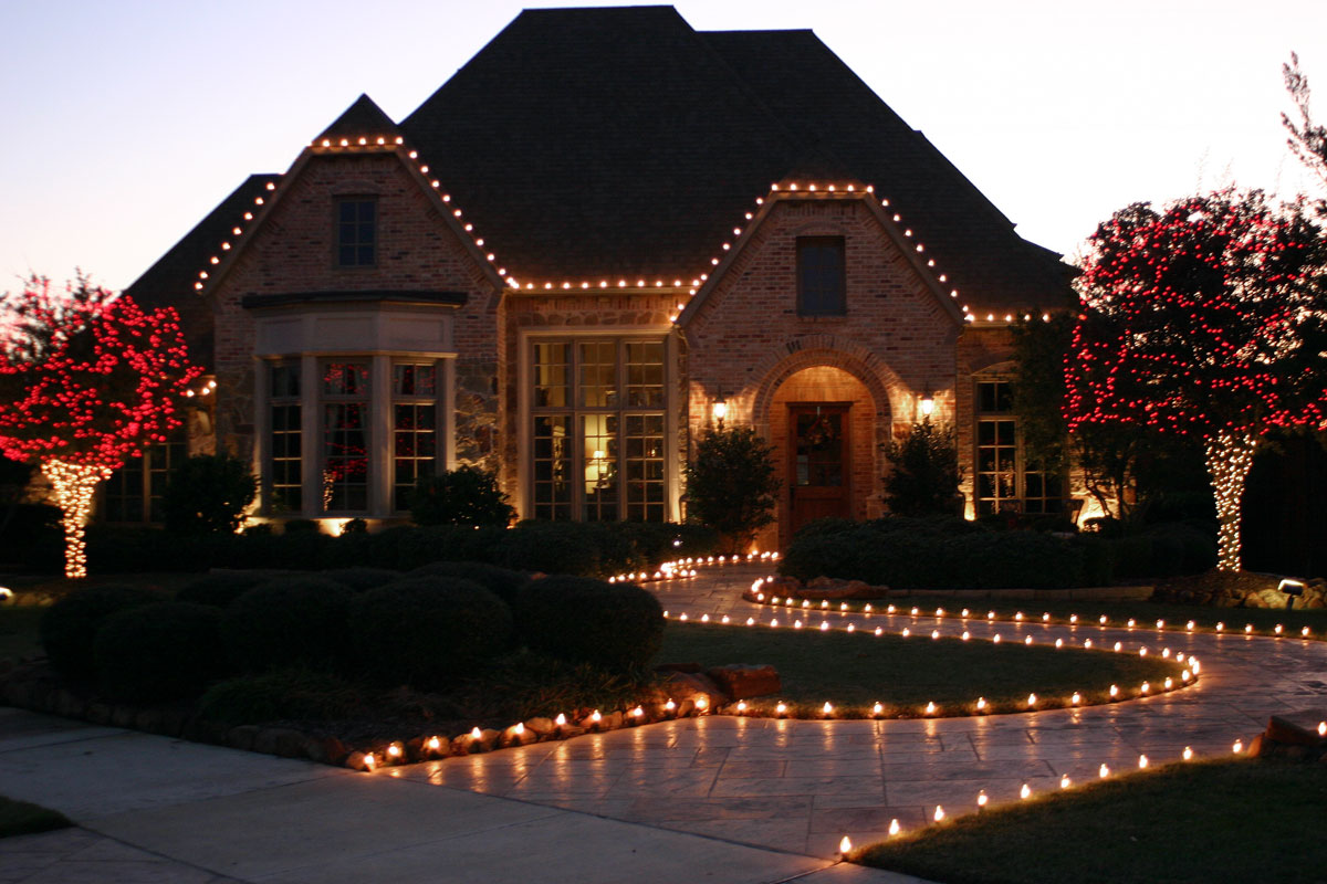 C7 Clear Christmas Lights