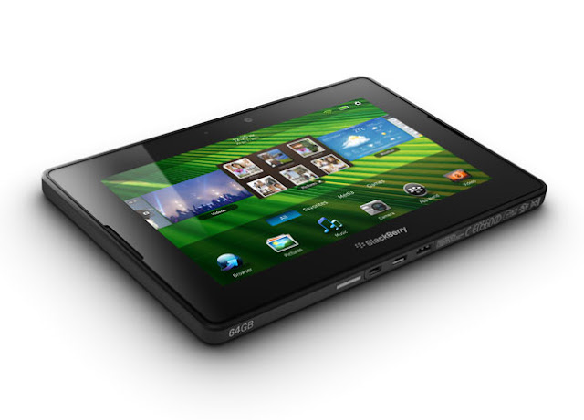 BlackBerry Playbook 64 GB display