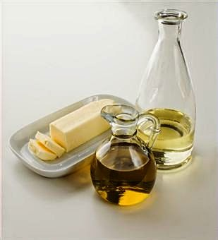 Replace butter and margarine with healthy oils