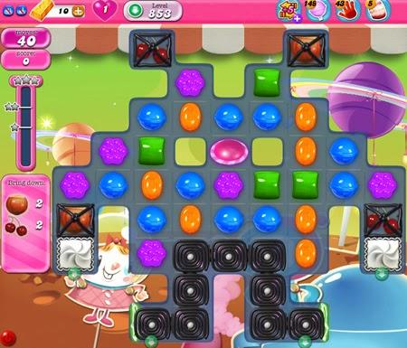 Candy Crush Saga 853