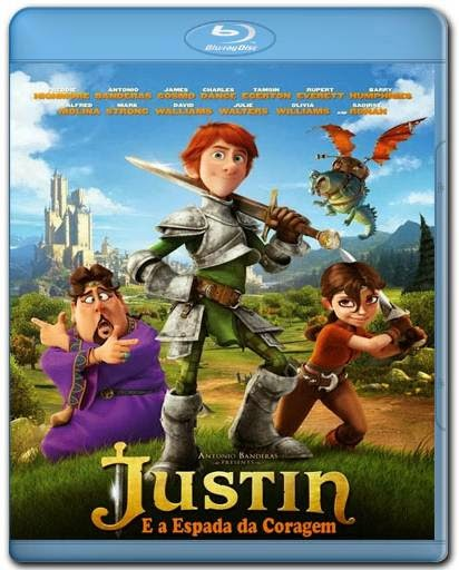 Baixar Filme Justin e a Espada da Coragem AVI Dual Audio BDRip Download via Torrent