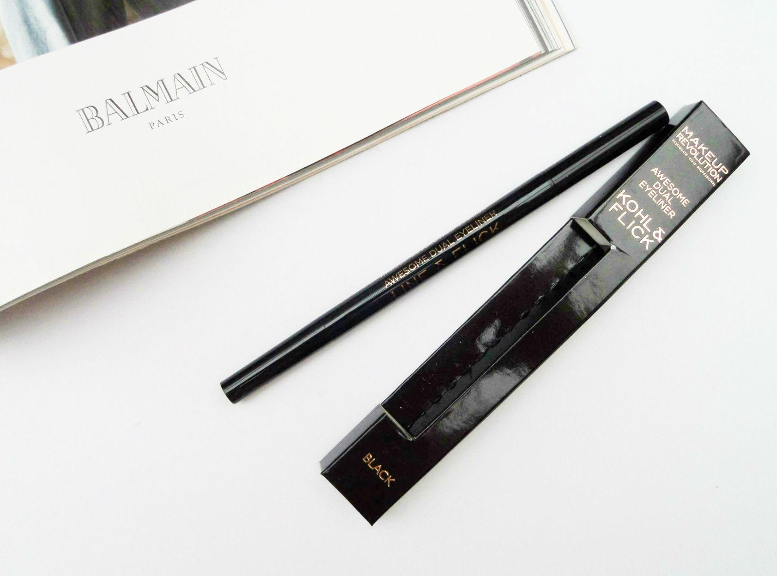 The Makeup Revolution Kohl & Flick Eyeliner Review