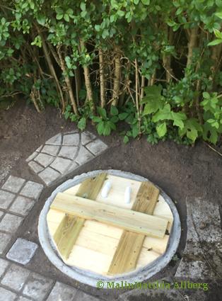 bygga liten jordkällare