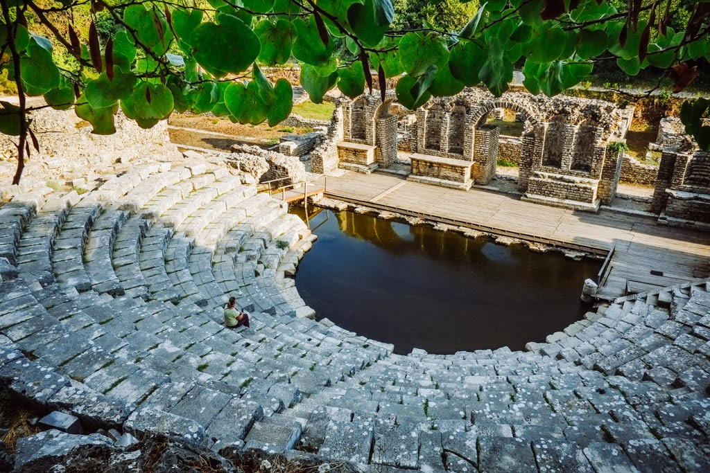 The Anicent walled city of Butrint, Albania