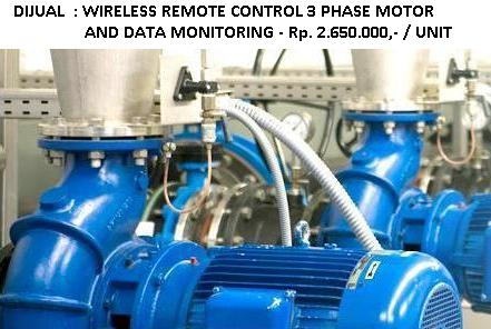 Wireless Remote Control Data Monitoring