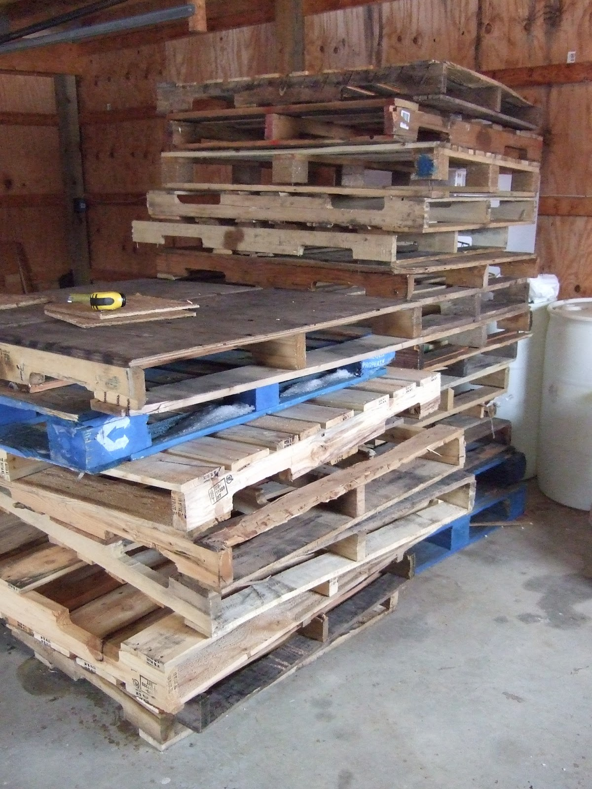 The Shire Farm Pig Pen Made out of Pallets