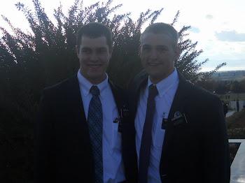 Elder Hatch and Elder Bassett