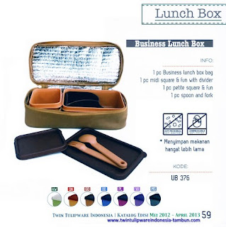 Info & Harga Twin Tulip Tulipware 2014 : Business Lunch Box - Maestro