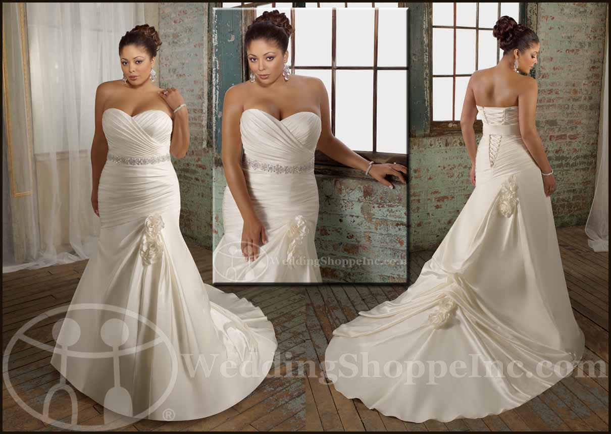 Wedding Gown: Plus Size Wedding Gowns