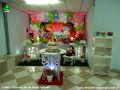 Tema Jardim Encantado para festa de aniversário infantil para comemorar 1 ou 2 anos de idade - ornamentação de mesa infantil