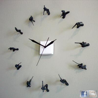 Tự Làm đồng hồ các chú lính đồ chơi