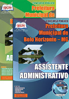 Apostila da PBH Concurso 2015 Analista de Políticas Públicas Concurso Prefeitura de Belo Horizonte MG 2015.