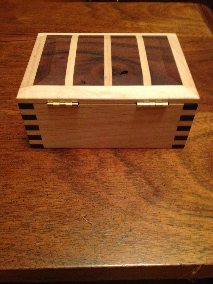 custom wood gift box