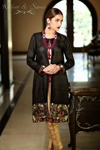 Riffat & Sana Eid Collection 2014